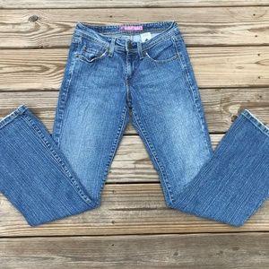 Levis 518 Girl Jeans SUPERLOW Boot Cut Light Blue